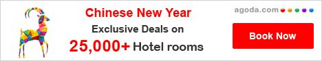 Agoda Chinese New Year - Worldwide Hotels Book Direct -  http://www.agoda.com/?site_id=1459421
