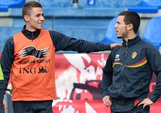 Eden Hazard praises his brother; Thorgan Hazard
