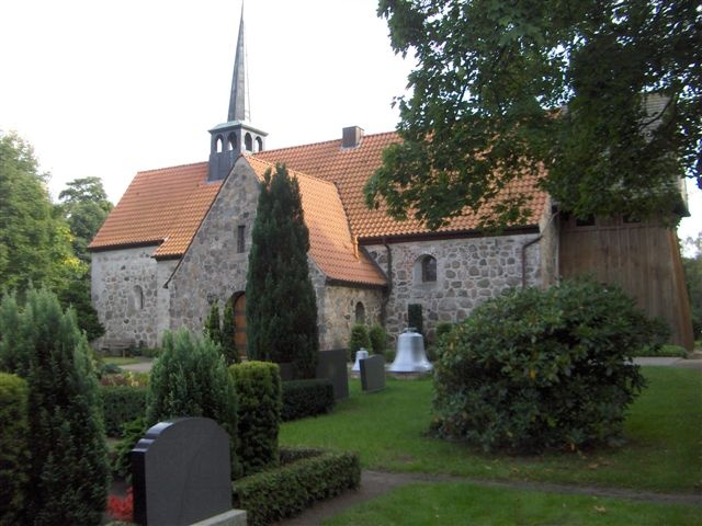 Wanderup Church! The home town of my first host family! Schleswig-Holstein,