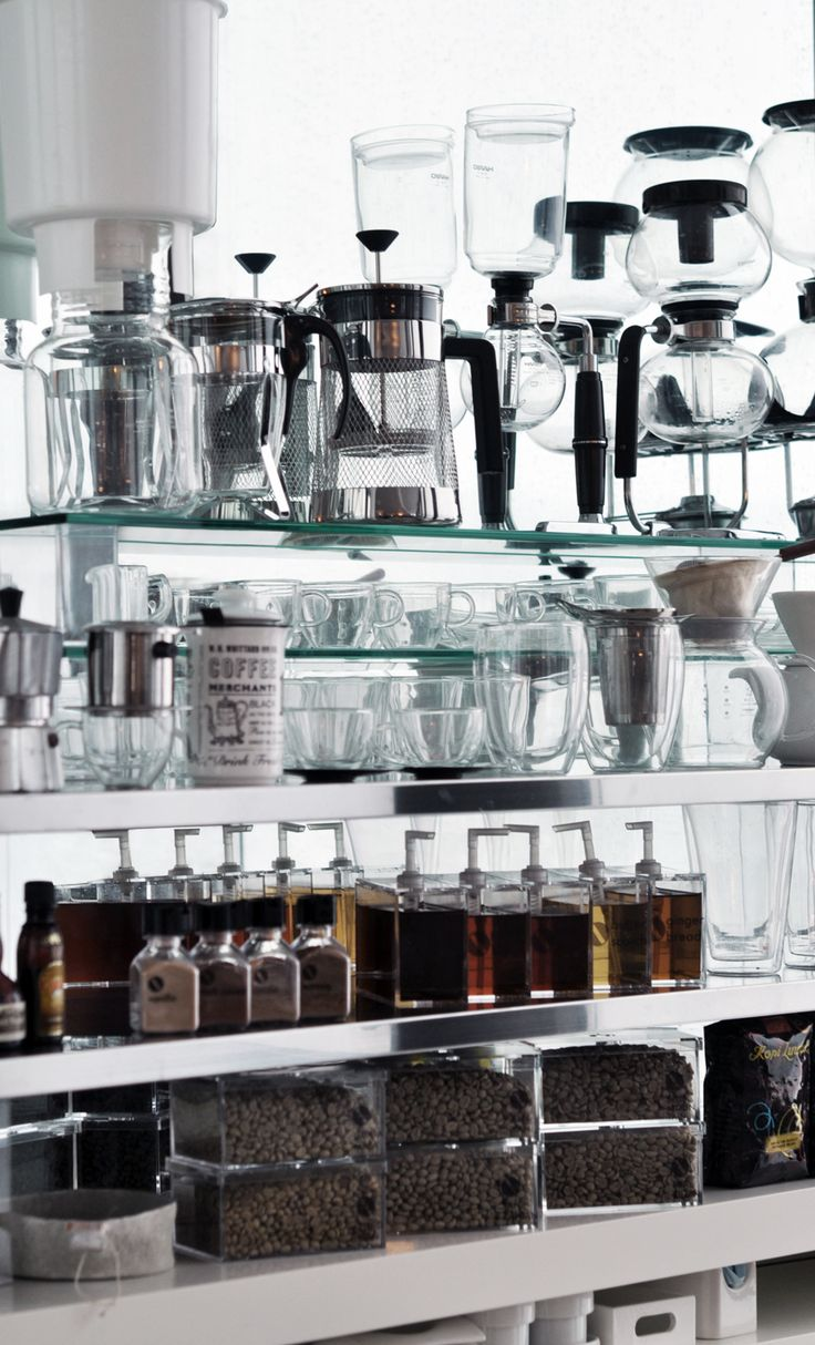 Coffee Station. This post may only be interesting to people who love coffee, otherwise you'll probably snore through this whole thing.