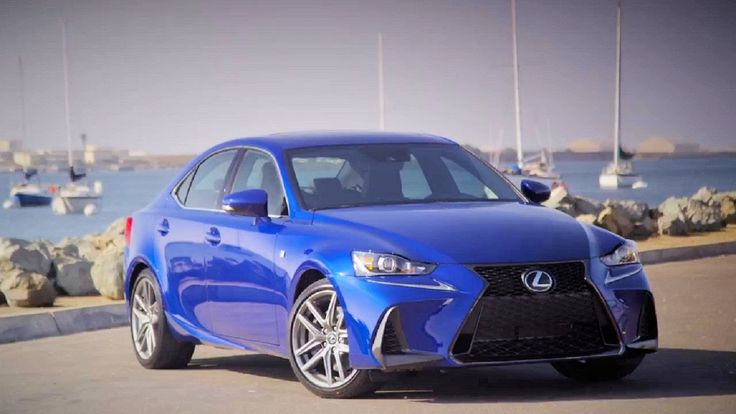 2017 Lexus IS350 F-Sport - Interior and Exterior