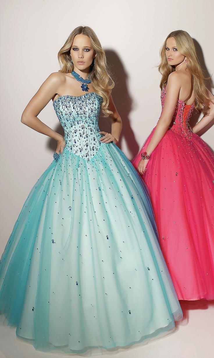 77 best Sweet 16 dresses/shoes images on Pinterest   Ballroom dress ...