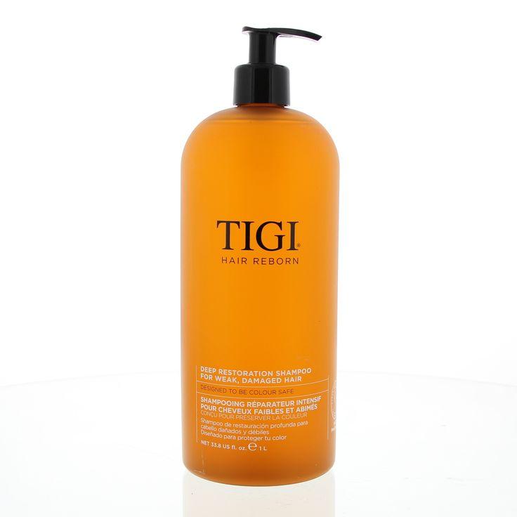 """Hair Reborn Journey Awakening Deep Restoration Shampoo Zwak/Beschadigd Haar 1000ml  Hair Reborn Journey Awakening Deep Restoration Shampoo. Deze shampoo bevat de hyper-distillatie technologie en prolipid 3"""" (Keratin- Keravis- en Babassu Olie) en helpt bij de wederopbouw van eiwit niveaus in de cortex van de haarvezel. Maakt het haar sterker en geeft het een gezonde glans. Gebruik: Aanbrengen op nat haar. Inmasseren en goed uitspoelen.  EUR 83.84  Meer informatie"""