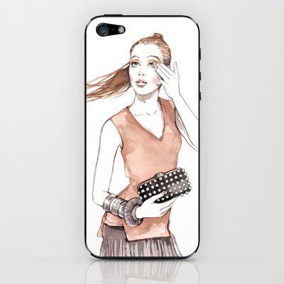 Silke iPhone & iPod Skin by Alicia Malesani - $15.00