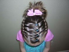 creative kids hairstyles with tutorials  CANT WAIT TIL H HAS HAIR!