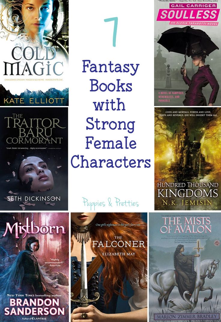 7 fantasy books with strong female characters | Cold Magic by Kate Elliott | The Traitor Baru Cormorant by Seth Dickinson | Mistborn: The Final Empire by Brandon Sanderson | The Falconer by Elizabeth May | The Mists of Avalon by Marion Zimmer Bradley | The Hundred Thousand Kingdoms by N.K. Jemisin | Soulless by Gail Carriger | Puppies & Pretties