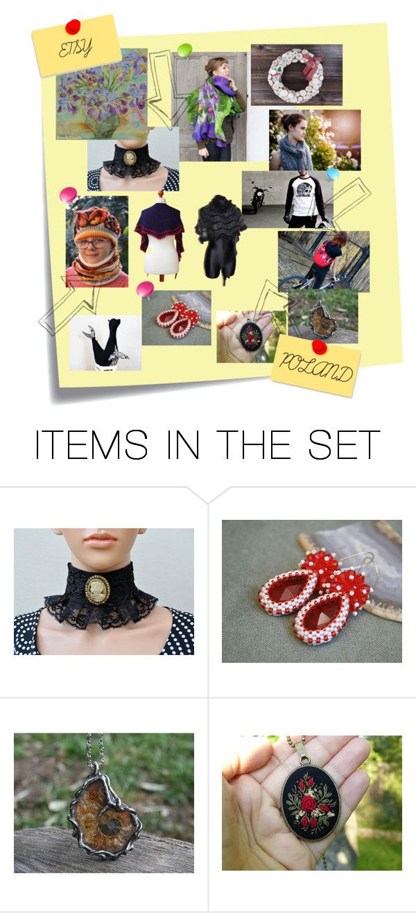 """ETSY POLAND"" by szkatulkaami ❤ liked on Polyvore featuring art"