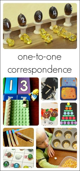 10 great ways to teach 1-1 correspondence