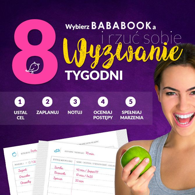 Twój Dziennik fitness BabaBook
