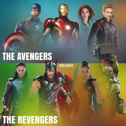 lolawashere:  The Avengers X the Revengers  So who would win??? << Revengers (come on is it a question?)