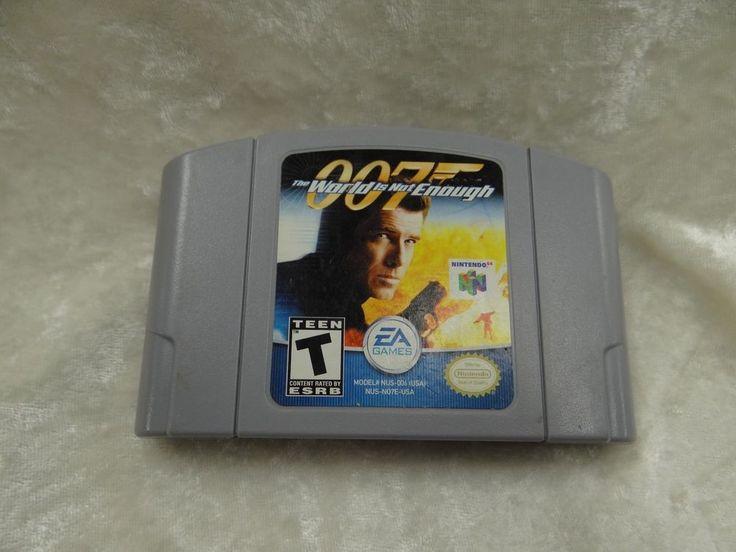 007 The World Is Not Enough (Nintendo 64, 2000) #Nintendo