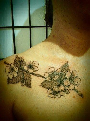 apple blossom | Tattoos | Pinterest