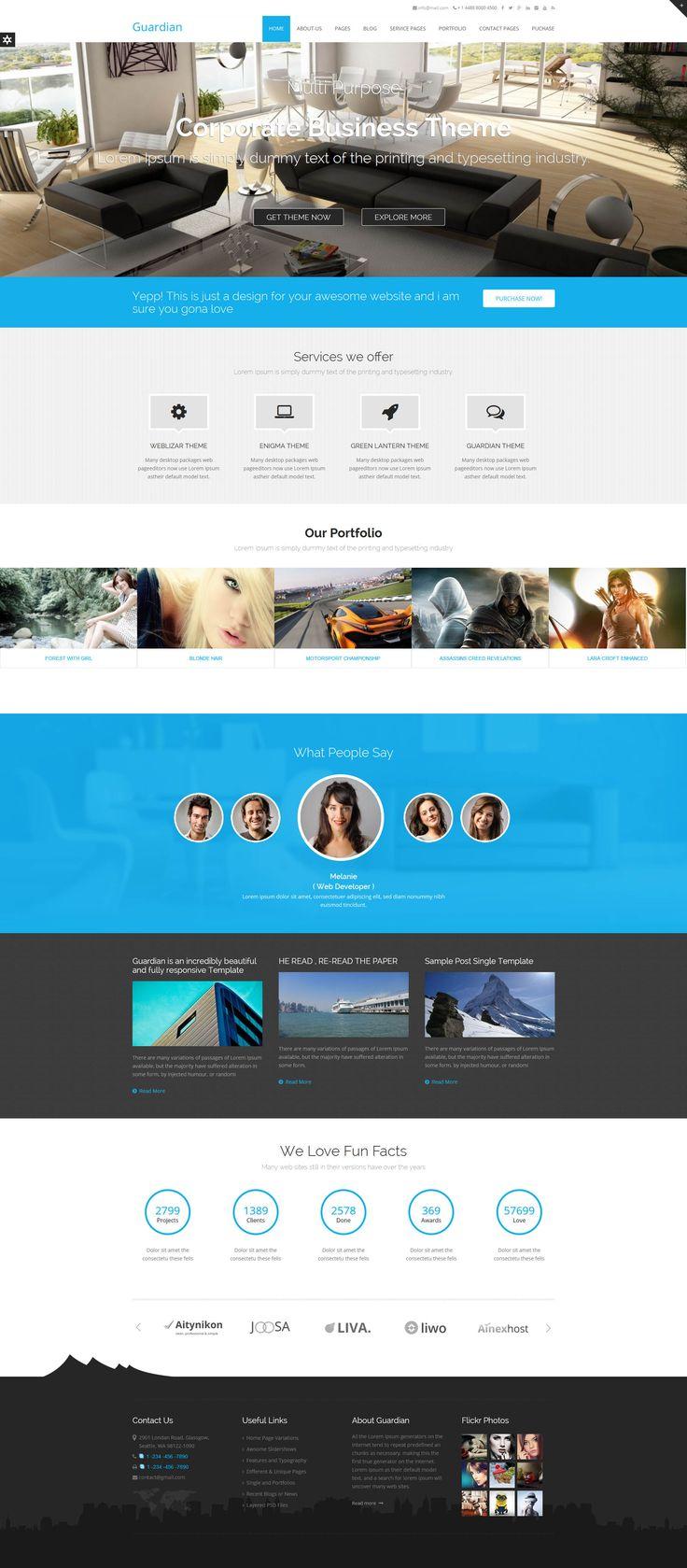 Guardian Premium WordPress Theme