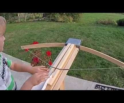 Crosbow for Paper Gliders