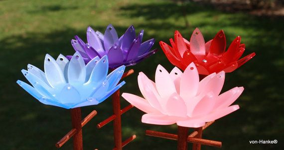 Jewelry stand necklace holder   Waterlily by vonHanke on Etsy
