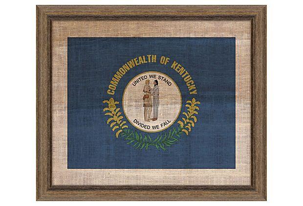 Kentucky Flag on OneKingsLane.com