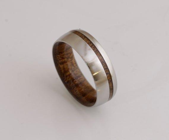 Mens Wedding Band Wood Ring Man Wood Wedding Ring Woman Band Etsy Wood Wedding Ring Women Wedding Rings For Women Wood Wedding Band