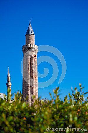 Antalya old town, Antalya old city, Blue sky