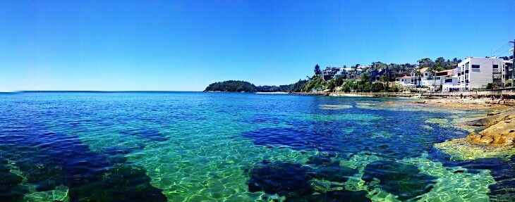 View across to Shelly from Fairy bower... #lovemanly #manlybeach #mymanly