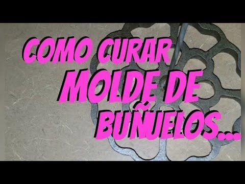 -COMO CURAR LOS MOLDES PARA BUÑUELOS DE VIENTO | TIP PARA QUE NO SE PEGUEN | - YouTube