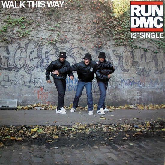 RUN DMC* – Walk This Way (Feat Aerosmith) - 1986