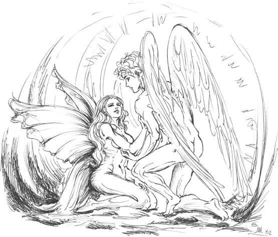 Eros awakening Psyche by elianthos80.deviantart.com on ...
