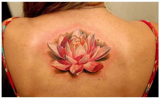 tatuajes-de-flor-de-loto-en-la-espalda.jpg (620×385)