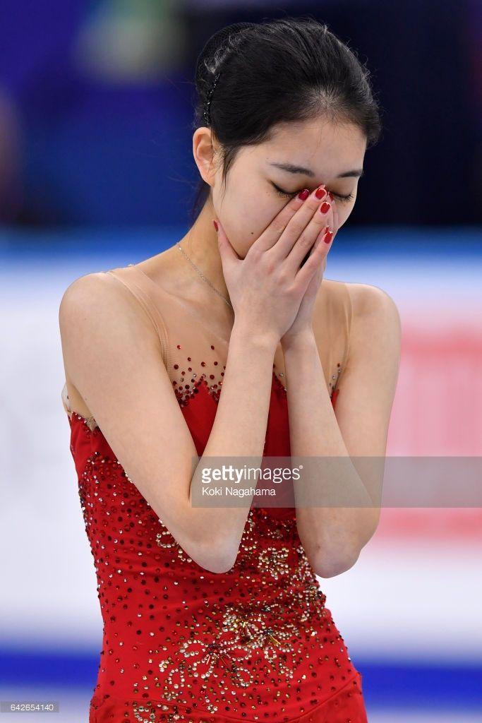 News Photo : Zijun Li of China looks dejected in the Ladies...