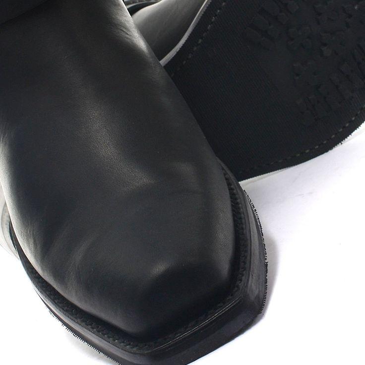 Grinders Renegade Lo Black Mens Cowboy Boots UK Size 8