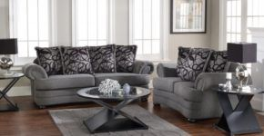 Modern Excellent Living Room Furniture Sets With Sofa And Loveseat With with Living Room Colors With Grey Furniture
