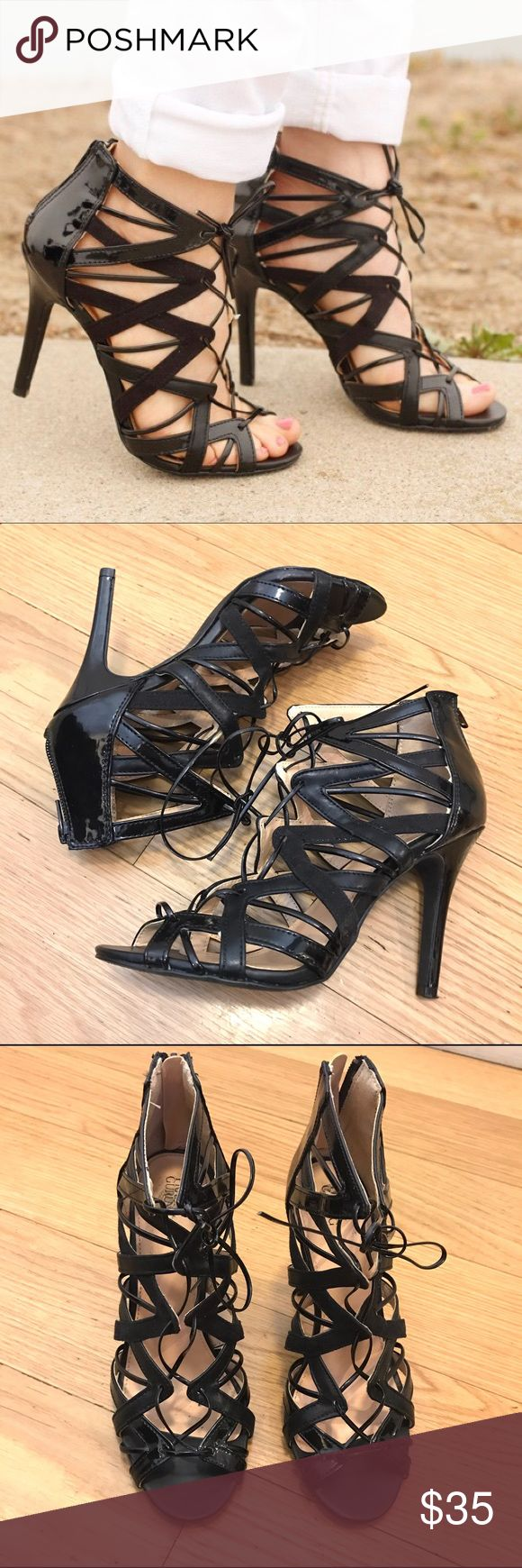 PRABAL GURUNG for Target Caged Heels Prabal Gurung for Target Caged Heels. -Size 7.5 -Excellent condition.   NO Trades. Please make all offers through offer button. Prabal Gurung for Target Shoes Heels