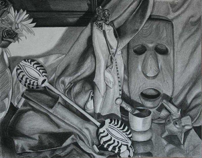 tonal still life drawing - Google Search