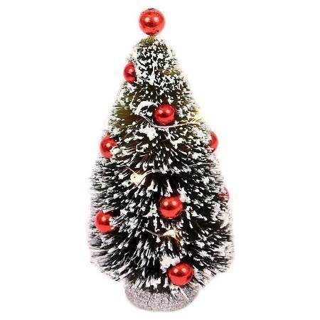 Brand New Philips  Christmas LED powered Bottle Brush Desktop Tree #Philips