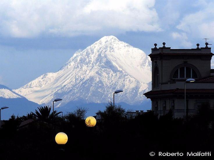 Snowy mountain 9348 #nature