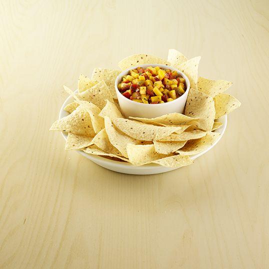 Simple Mango Salsa #InspireTheSeason