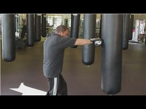 Boxing Tips : How to Punch a Boxing Bag- Just got a punching bag and am working it into the old routine