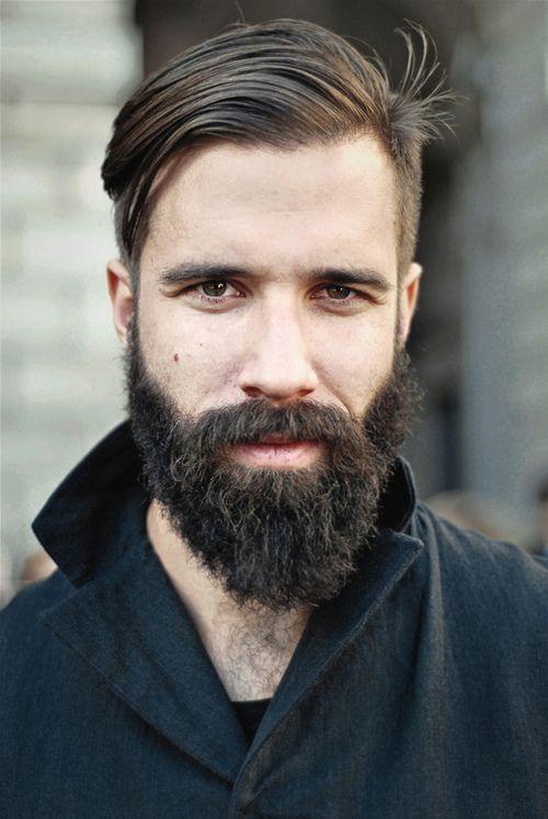 man. beard
