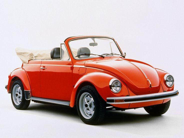 1972 Volkswagen Beetle 1303 Cabriolet   Learned to drive in this...standard to boot!