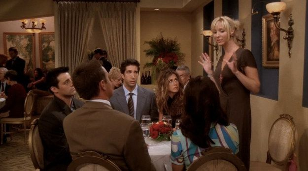 """The One with Phoebe's Birthday Dinner"" (Season 9, Episode 5) 