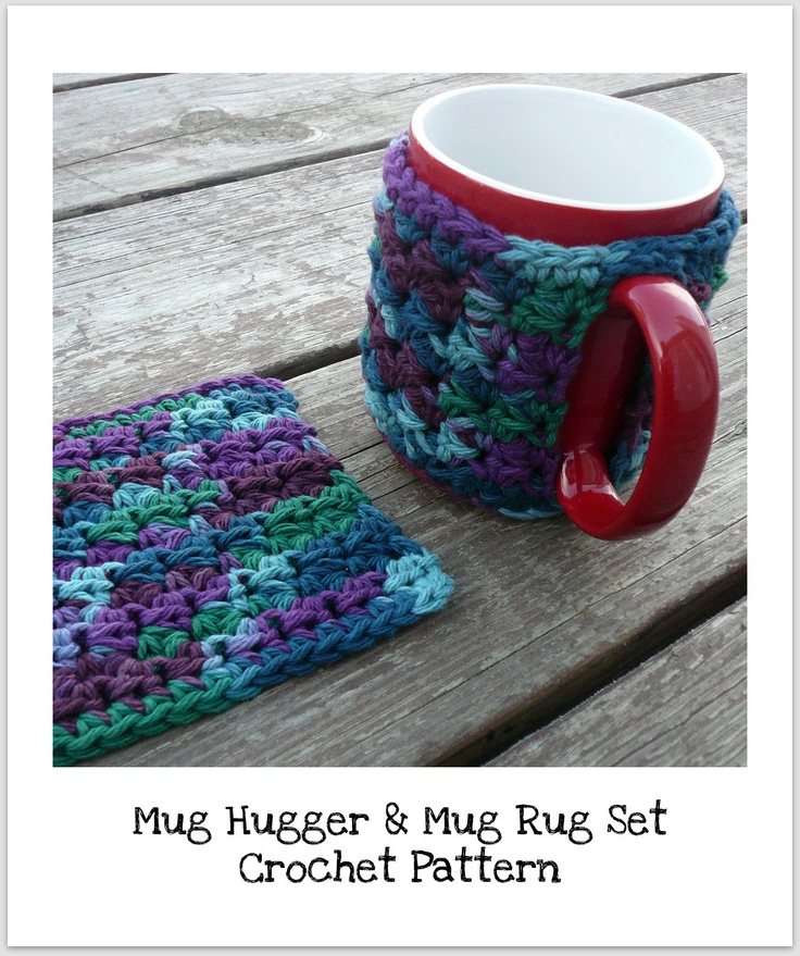 Free Crochet Pattern For Mug Rug : 17 Best images about Crochet kitchen & Bath on Pinterest ...