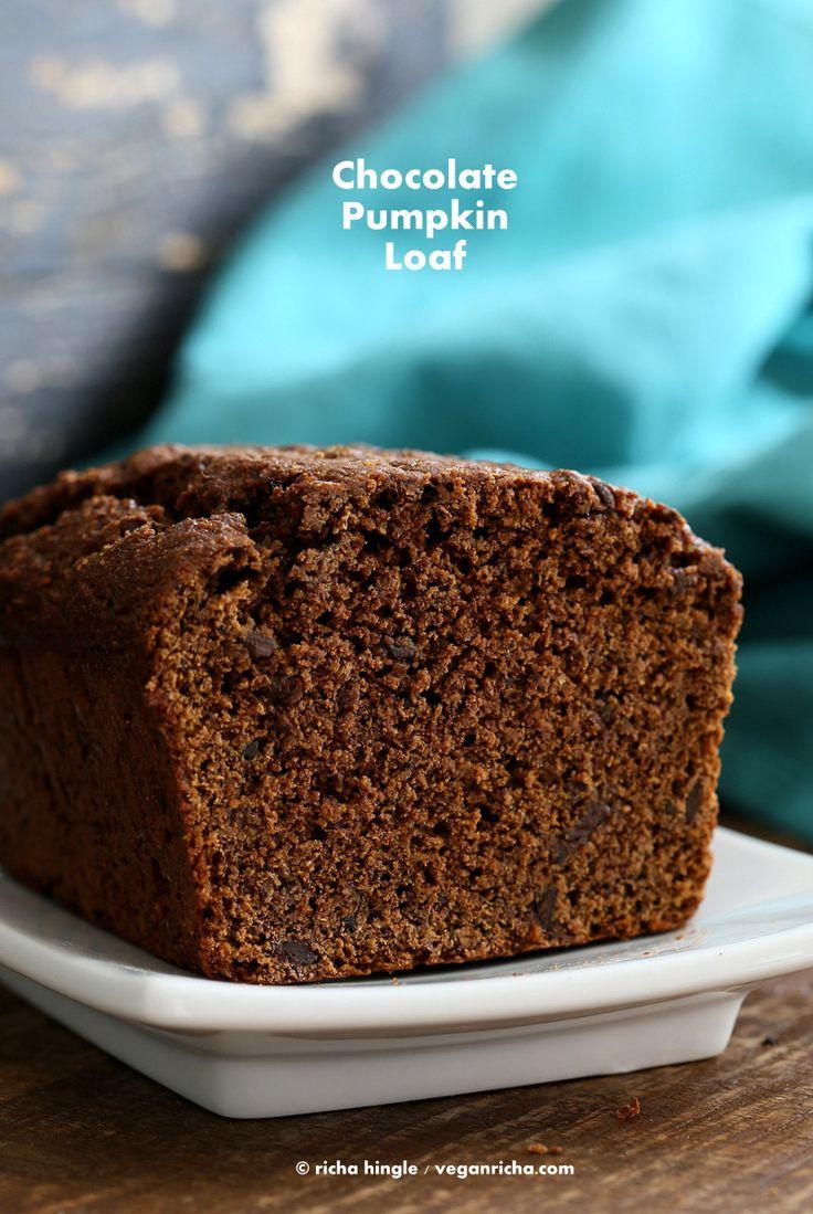 Vegan Chocolate Pumpkin Cake