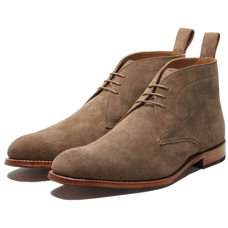 Marcus is our classic mens chukka boot with a leather sole that can be  dressed up or down to suit any occasion. Here is in our new suede colour  almond, ...