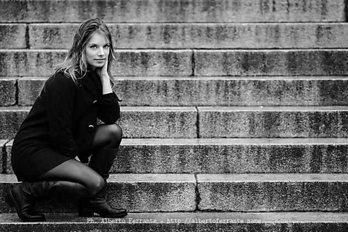 Anna Under the Rain by Alberto Ferrante on 500px