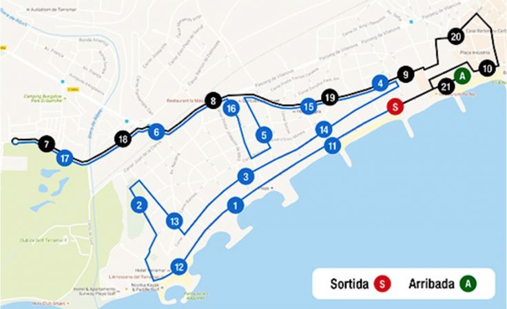 What to do in Sitges  Sports events  Sitges Half Marathon & Quarter Marathon