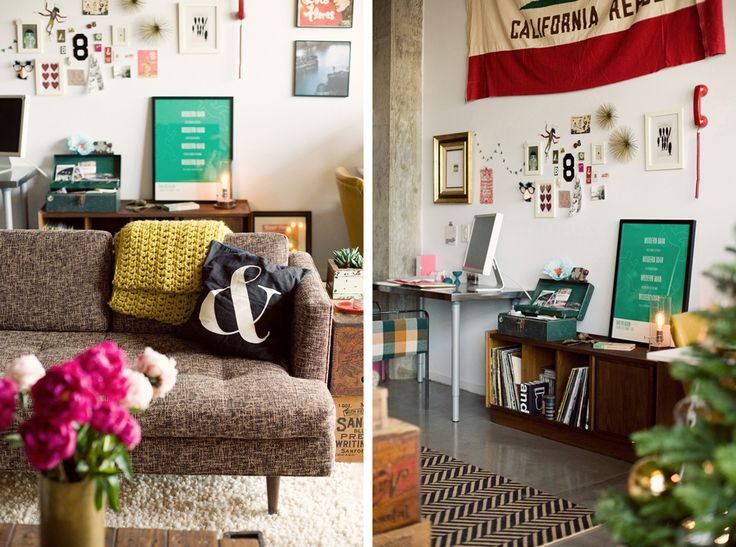 {BLACK. WHITE. YELLOW.}: Design Love Fest's Loft Shoot from Rue Magazine