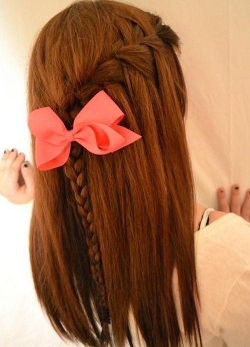 hairstyles for girls in middle school | ... School and College for Teenage Girls cute hairstyles for middle school