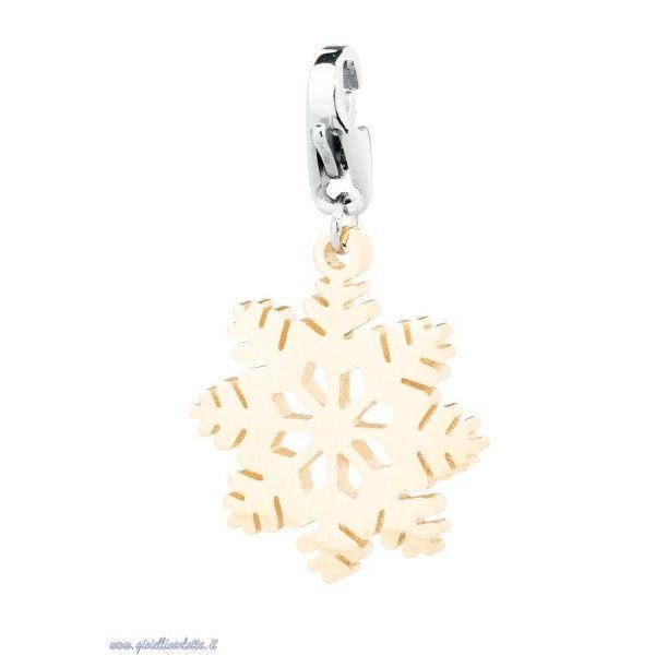 s'agapo' happy charm fiocco di neve SHA55 Gioielleria Shopping Online Prezzo ridotto! 12,75 € http://www.gioiellivarlotta.it/product.php?id_product=1678