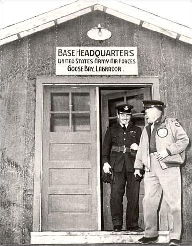USAAF at Goose Bay, ca. 1942.: World War II: Newfoundland and Labrador ...