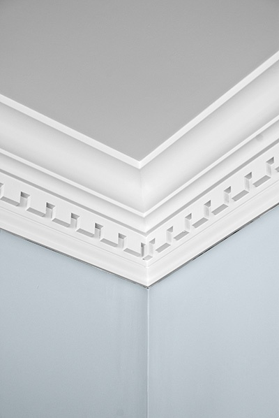 Modern crown molding with dental trim For Your Plan - New crown molding joints Style