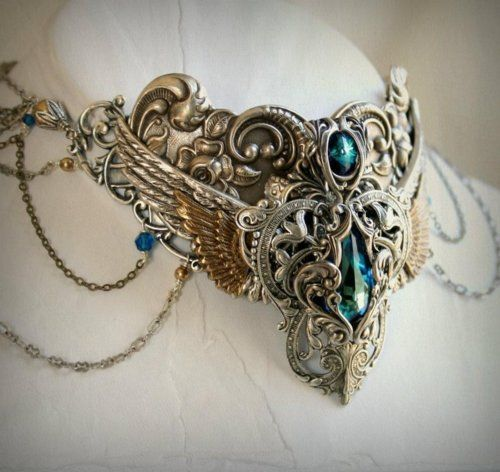 Egyptian collar: Egyptian Collar, Style, Jewellery, Egyptian Jewelry, Collars, Costume, Necklaces, Things, Steampunk